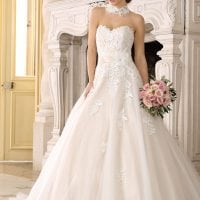 Très Chic TC9230 strapless a-line ball gown