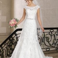Très Chic TC9271 wedding dress with sleeves