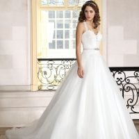 Très Chic TC9275 long a-line ball gown