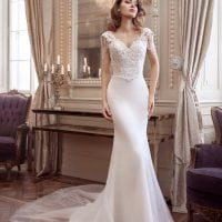 Elisabeth Grace EG9296 vintage wedding dress with sleeves