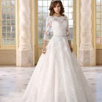 Très Chic TC9298 long ball gown with sleeves