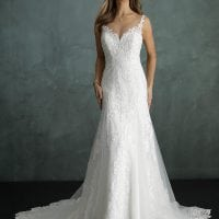 Pure PU9299 modern wedding dress
