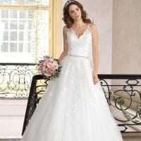 Très Chic TC9302 a-line traditional ball gown