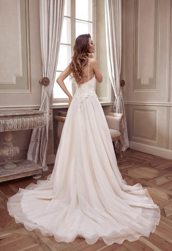 Elisabeth Grace EG9330 long ball gown backside