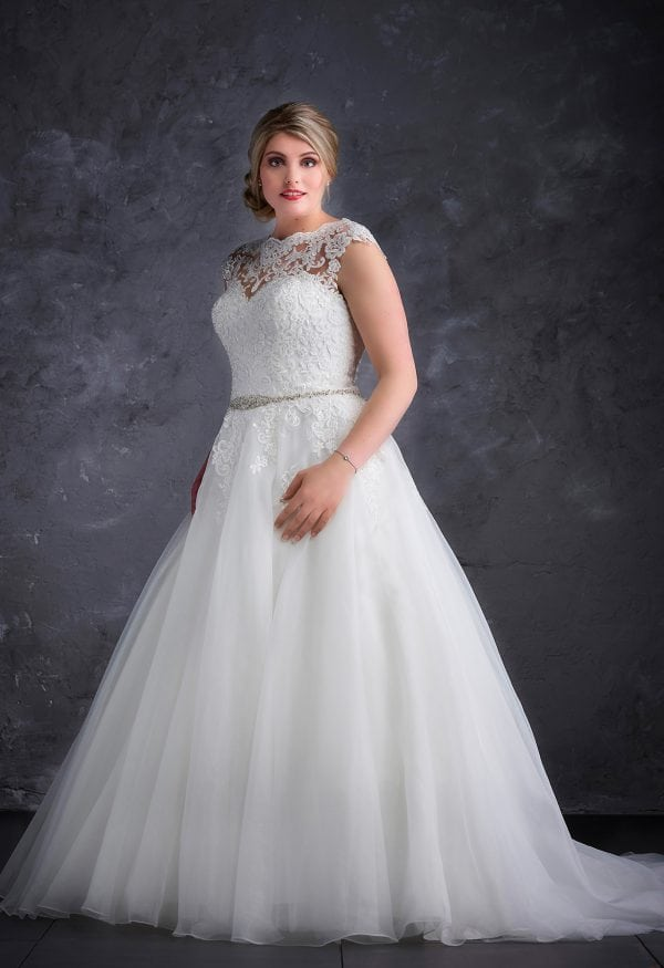 Miss Emily+ ME9364 a-line ball gown
