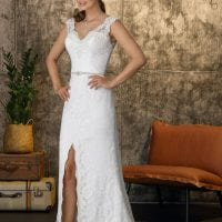 Brinkman BR9392 long wedding dress vintage inspired