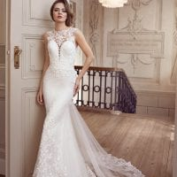Elisabeth Grace EG9373 mermaid wedding dress ambiance picture