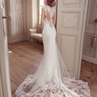 Elisabeth Grace EG9373 mermaid wedding brautkleid stimmungsbild