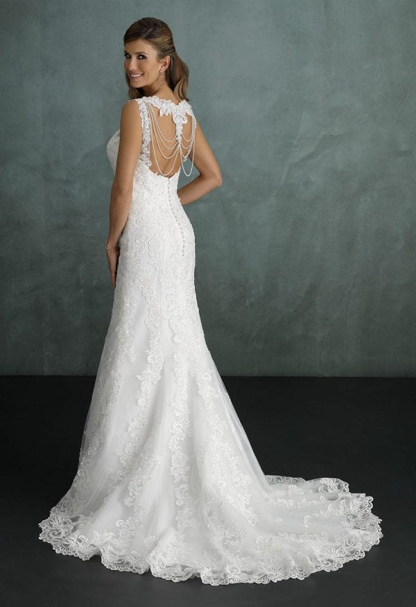 Pure PU9284 wedding dress with beautiful backside