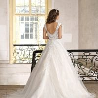 Très Chic TC9240 A-line Ball gown backside