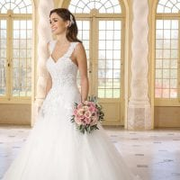 Très Chic SN9253 a-line ball gown ambiance picture