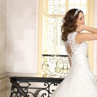 Très Chic TC9307 a-line ball gown ambiance picture