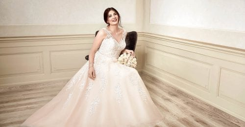 Plus size wedding dresses | Our beautiful 'Miss Emily' collection