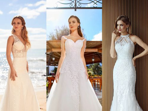 Which neckline makes you shine on your big day?